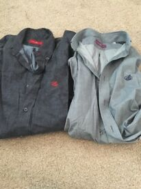 Men's size large shirts Clements church