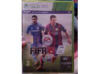 FIFA 15 (BRAND NEW) & Dead Rising 2 (Zombrex tin) for Xbox 360