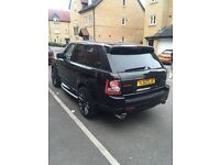 Range Rover sport red edition full autobiography kit
