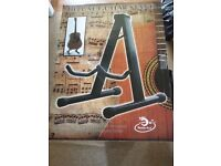 Guitar Stand Fits a single Electric, Acoustic or Bass - Brand new in box