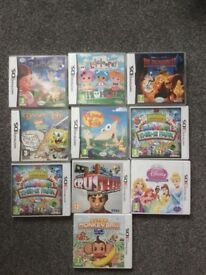 10 3ds and 2ds games in great condition