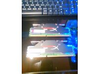 4GB OF HYPERX DDR3 WATERCOOLED GAMING RAM FOR SALE, MUST SELL.