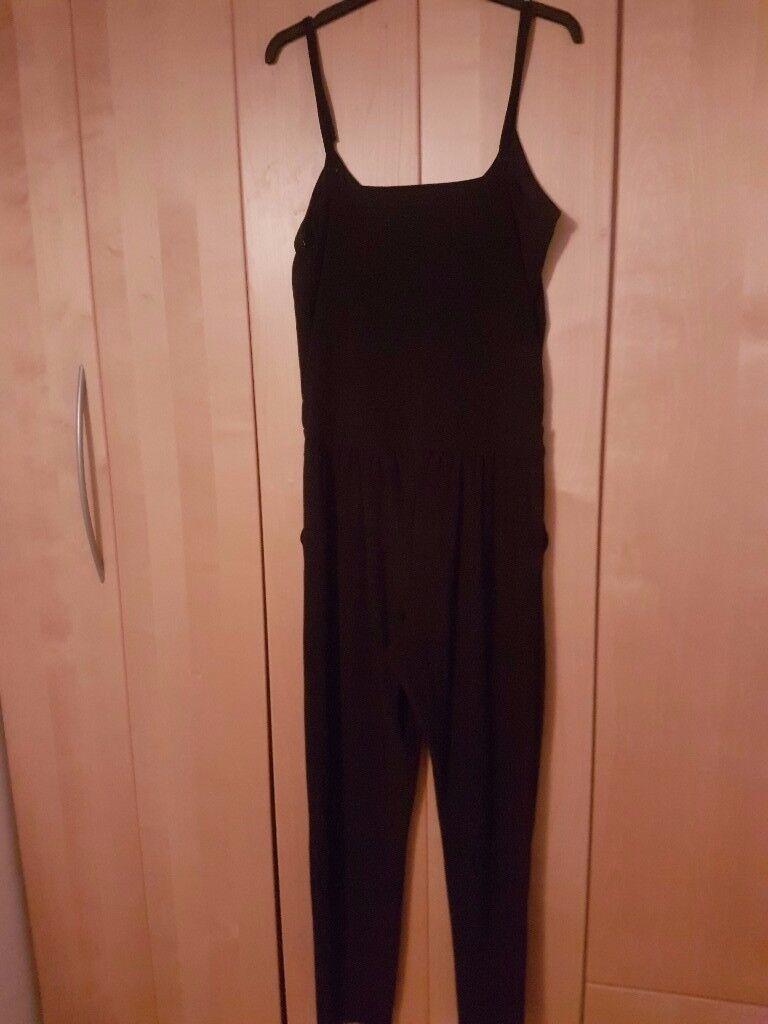 Black Lipsy Jump Suit