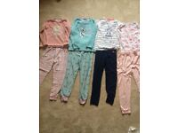 Girls pyjamas age 10-11