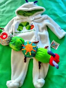 New Very Hungry Caterpillar bunting suit & toy (3-6 months) Kitchener / Waterloo Kitchener Area image 1