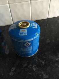 Gas canister for camping