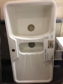 Stainless Steel Kitchen Sinks All B&Q EX DISPLAY From £30, only 30 ...