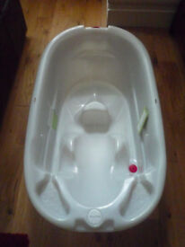 Mamas and Papas Two Stage Bath with Top n Tail Washbowl