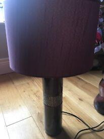 next plum lamp and shade new