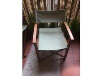 4 Garden Wooden Chairs