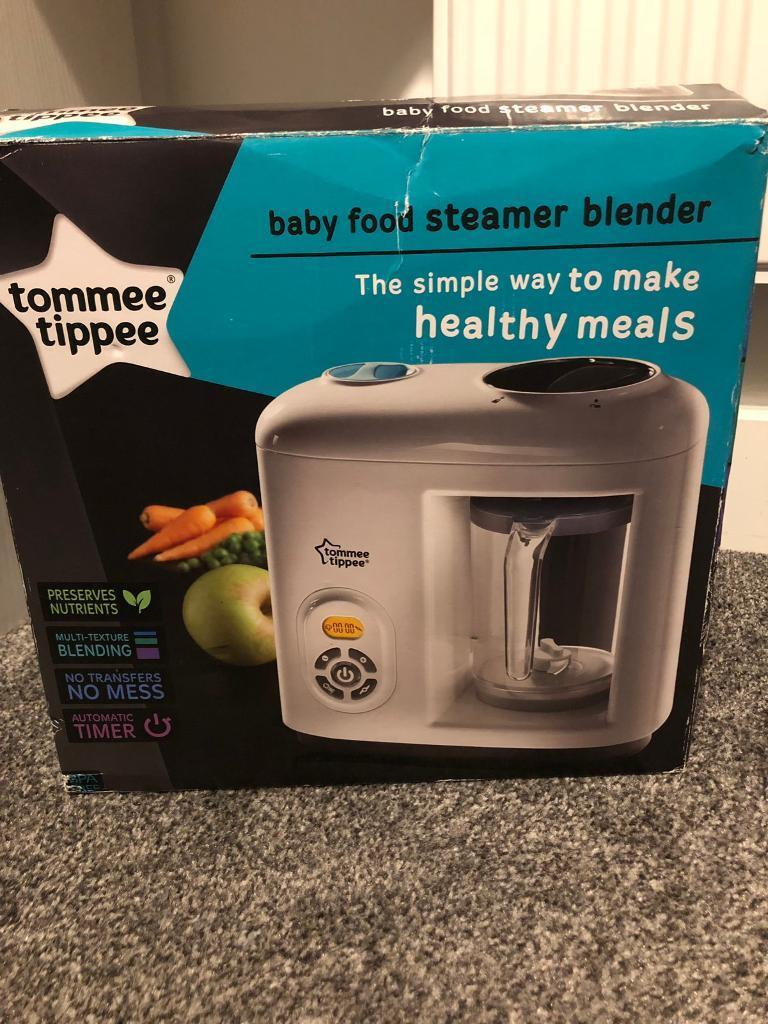 Tommee Tippee Baby Food Steamer Blender In Shrewsbury