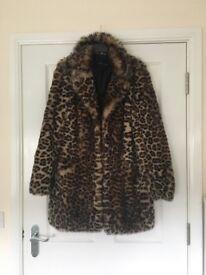 New look fur coat