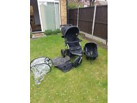Travel system-this second hand travel system was only used for a short time and in great condition