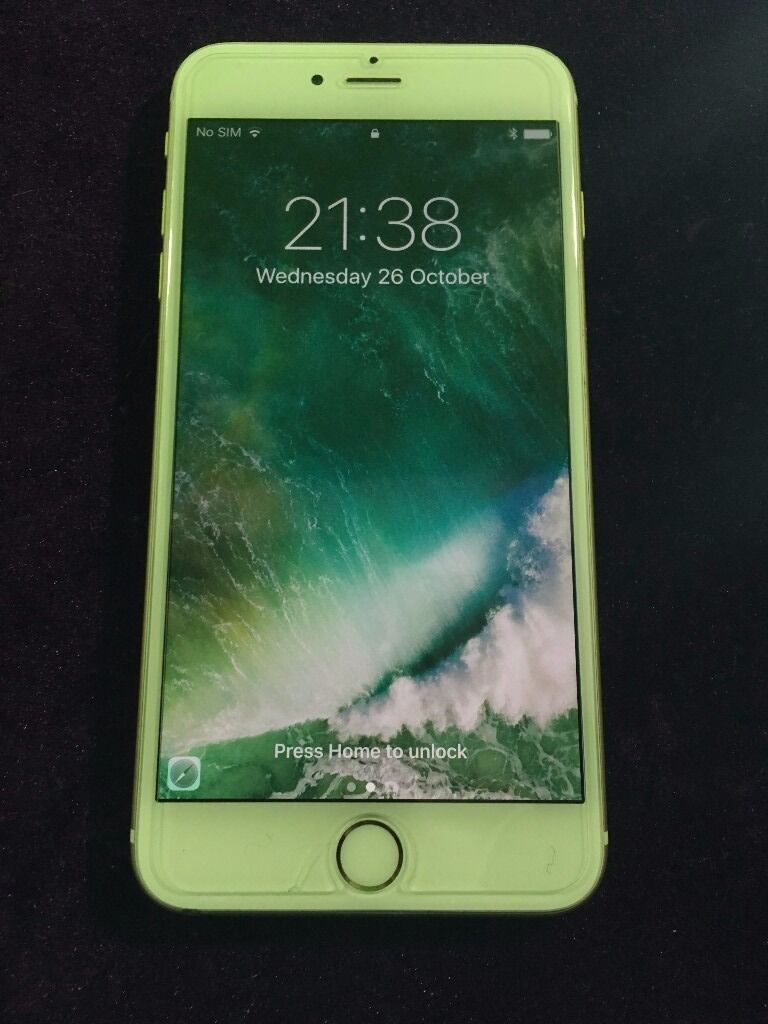 Iphone 6 Plus 64GB (White and Goldin Tillicoultry, ClackmannanshireGumtree - IPHONE 6 PLUS Great condition Apple iPhone 6 Plus. Has been fitted with a glass screen protector so is in almost new condition and the screen itself is immaculate. There is some very slight marks on the casing sides but nothing major. See Video. It...