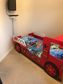 Fire engine bed sold pending collection