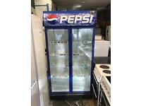 Nesso drink fridge height is 200 cm and width is 100 cm