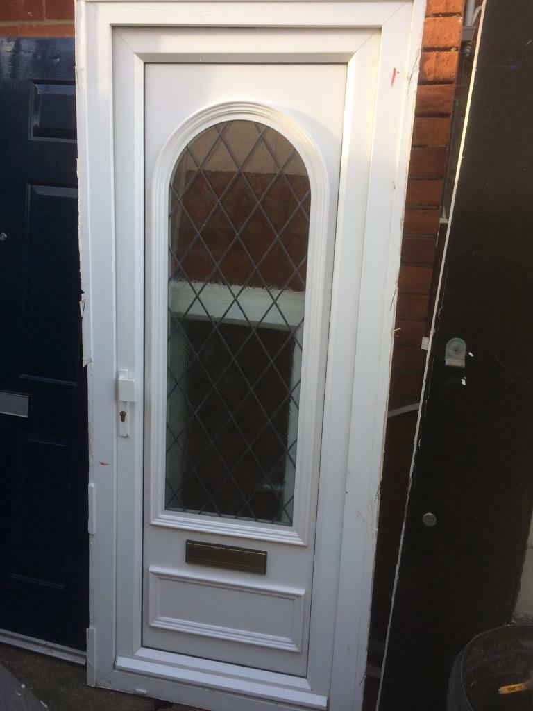 Upvc Double Glazed Front Door In Whitley Bay Tyne And