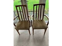 Carver Dining Chairs - two