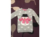 Girls xmas jumper age 5-6