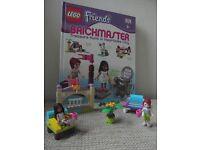 Lego Friends Brickmaster Book - Treasure Hunt in Heartlake City