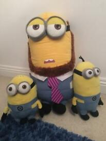 Minion soft toy bundle