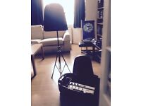 Studio Master Walkabout 2X150Watt, 5 Channel, 7 input Portable PA System