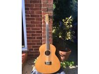Kif Wood hand built 12 string acoustic guitar