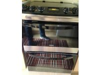 2 month old electric Zanussi cooker hardly used was £600 when bought new