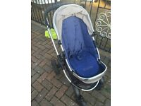 Used iCandy peach pushchair. Brought new for £650. Very easy to manoeuvre. Brilliant buggy!