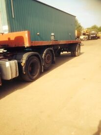 Flat Bed Trailer 25 Foot