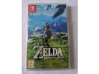 Brand new, sealed, The Legend of Zelda: Breath of the Wild (Nintendo Switch)