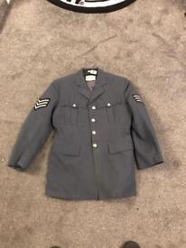 RAF jacket military worn
