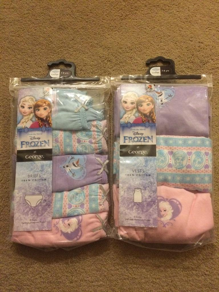 Frozen briefs and vests