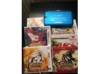 Nintendo 3D DS Xl and games