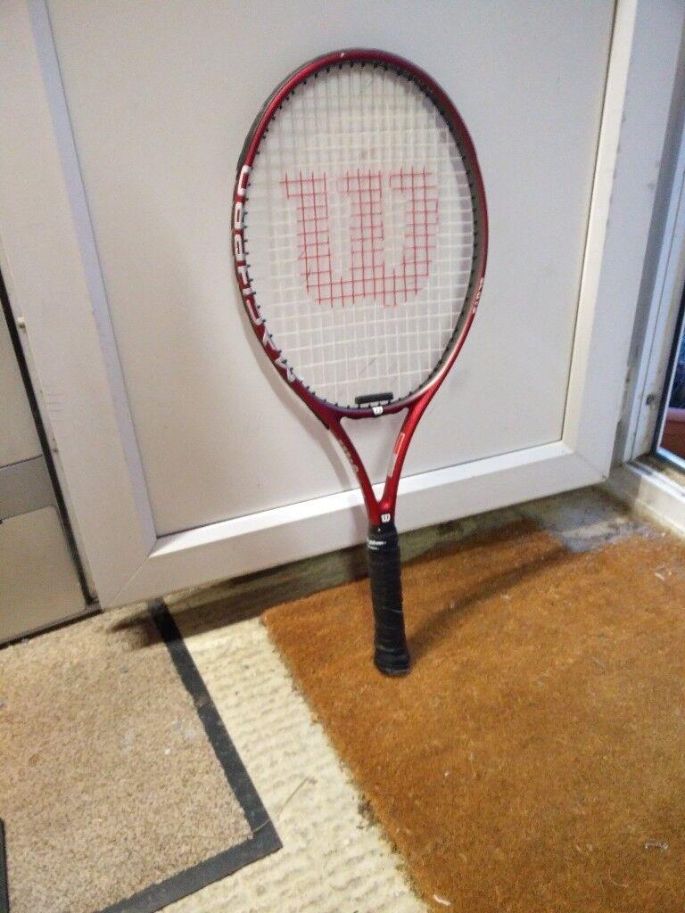 Adult wilson tennis racket