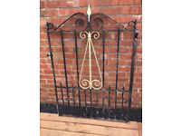 Original Scottish Church Gate / Reclaimed Garden Gate- DELIVERY AVAILABLE