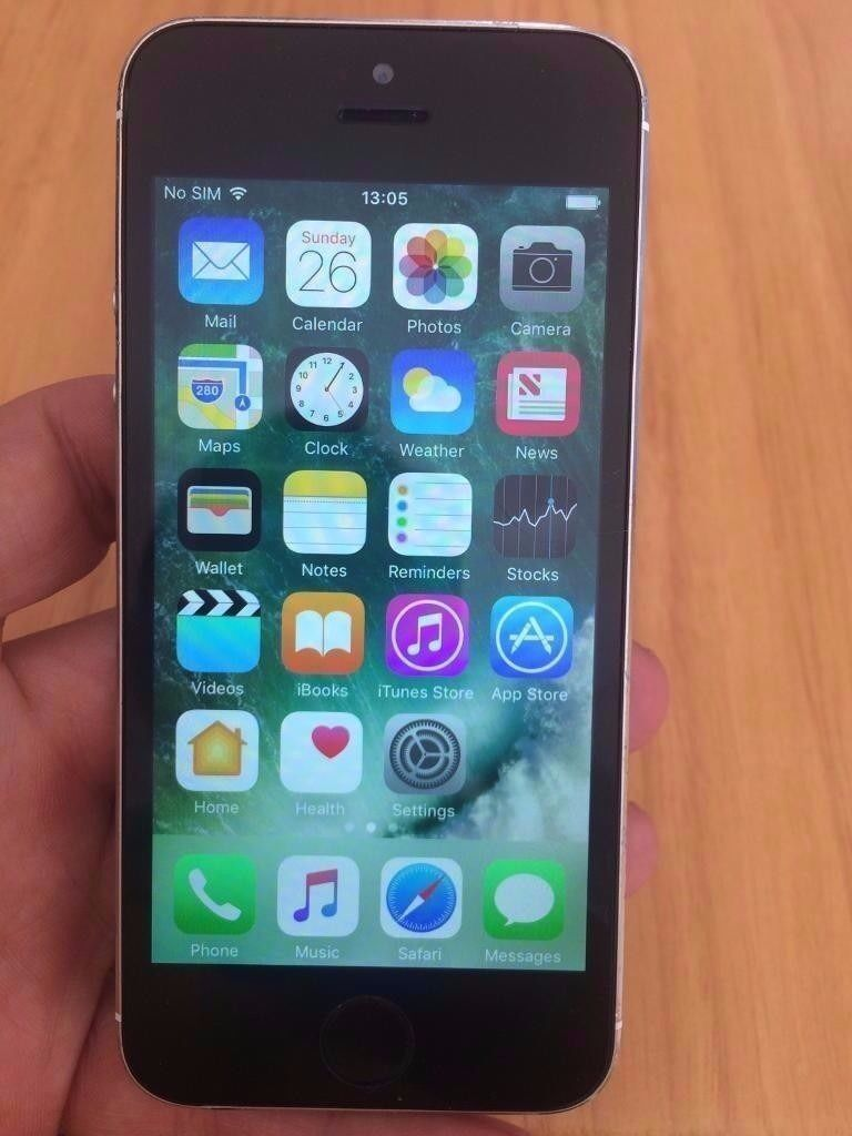 iPhone 5s 16gb BlackGrey 02/giff gaff/Tesco Sim locked Mint Conditionin Llantwit Major, Vale of GlamorganGumtree - iPhone 5s 16gb Black & Grey Mint Condition 02/giff gaff/Tesco Sim locked No offers sorry Phone in mint condition as photos illustrate Phone Works perfectly without any issues Comes with New Usb Cable comes with latest IOS updates and ready to use