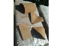 Sandtoft Goxhill Handmade Clay Roof Tiles with Matching Fittings - unused.
