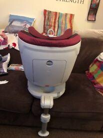 Britax dual fix car seat birth-4 years