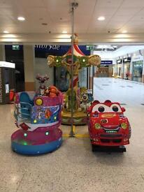 Earn Additional Income For Free -Amusement kiddie rides and vending