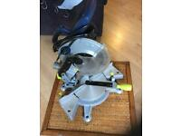 "8"" Compound Mitre Saw With Laser"