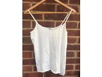 White TOPSHOP vest top
