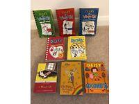 Assortment of 8 Girls Books