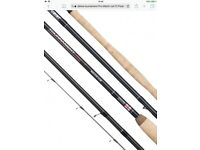 daiwa tournament Pro Match rod 13 Float Match Rod 3 peiece