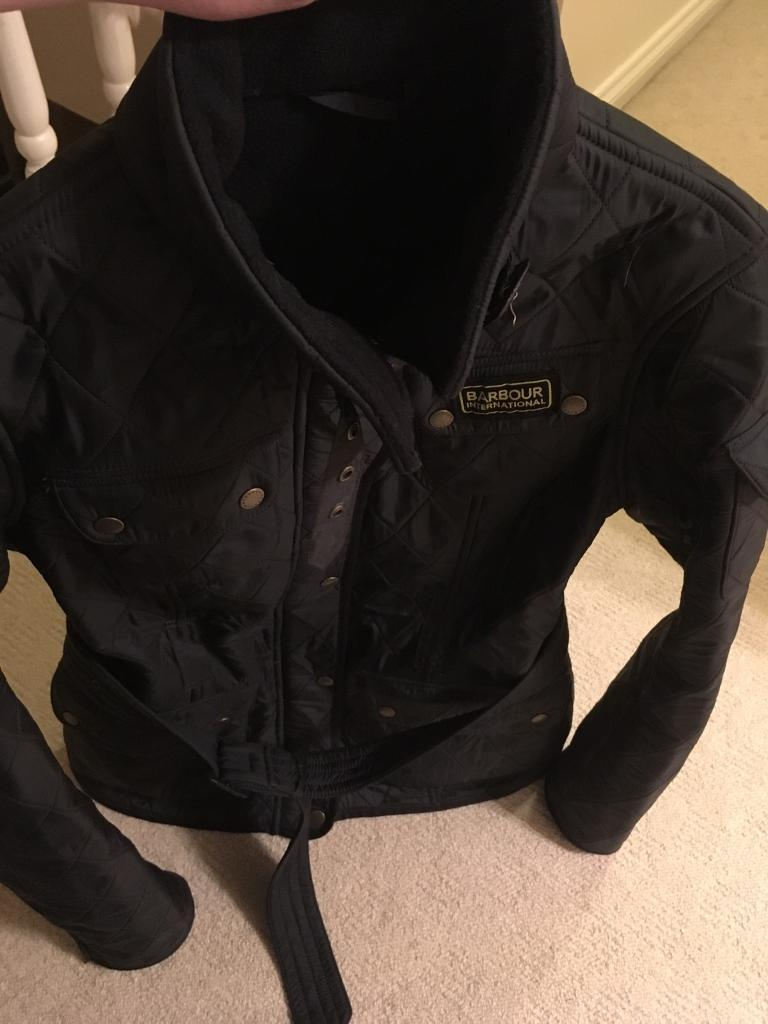 Navy Barbour Jacket