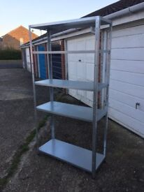 Heavy Duty Shelving, £20 for quick sale!! Nearly new!