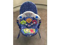 Fisher Price Kick and Play Baby Bouncer