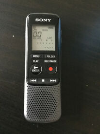 Sony ICD-PX240 High-Quality MP3 Mono Digital Voice Recorder
