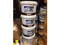 No Nonsense Trade Bare Plaster Paint Brilliant White 10 litres x 4