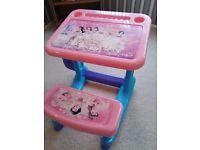 Childs princess desk